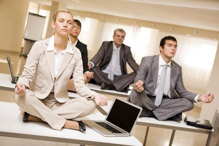 desk-yoga-stock-photo
