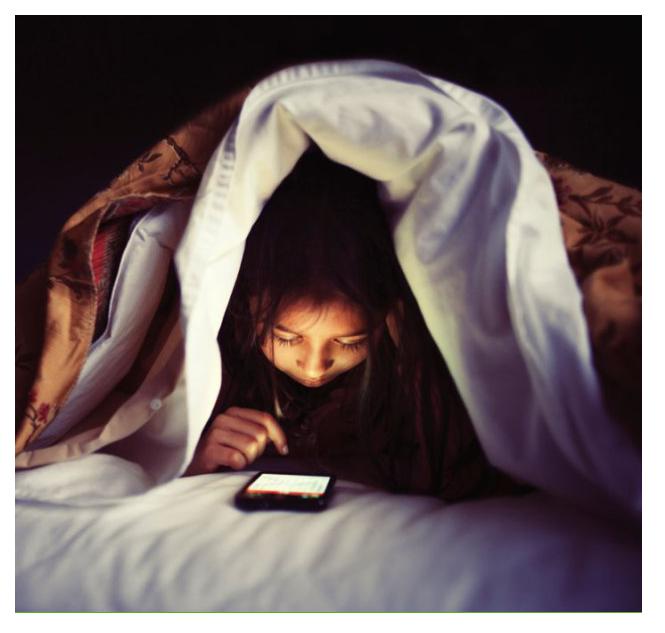 dormir sin pantallas