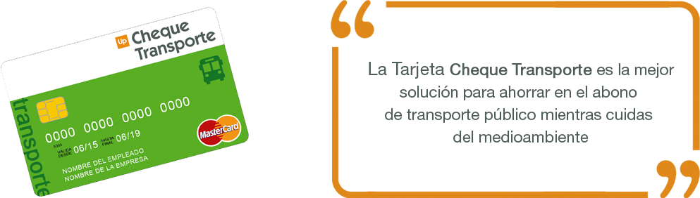 Up Cheque Transporte producto